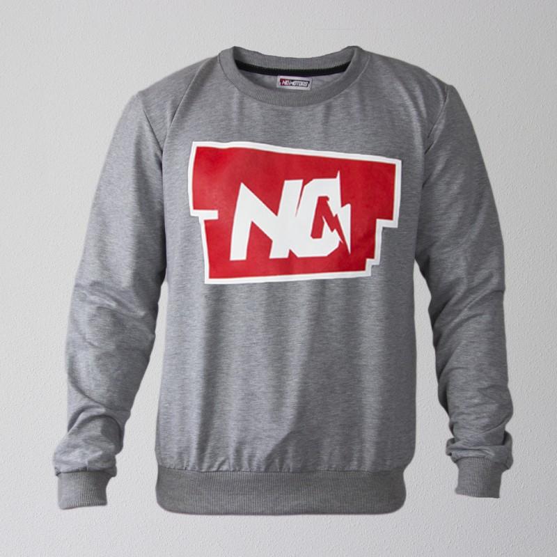 Свитшот NO (Серый)