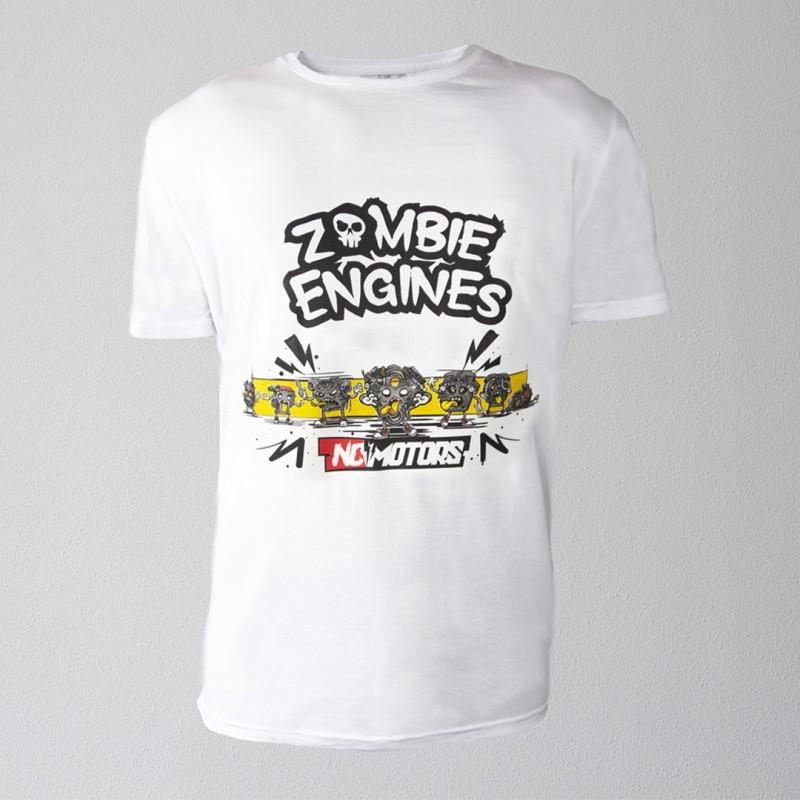 Футболка Zombie Engines Big Print (Белый)